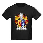 Vaz Family Crest Kids Dark T-Shirt