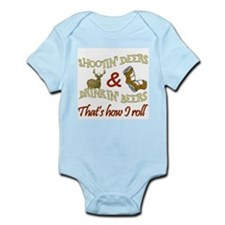 Funny Shooters Infant Bodysuit