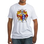 Vaz Family Crest Fitted T-Shirt