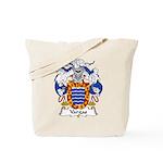 Vargas Family Crest Tote Bag