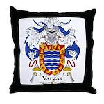 Vargas Family Crest Throw Pillow