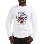 Vargas Family Crest Long Sleeve T-Shirt
