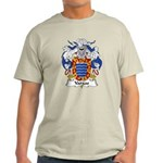 Vargas Family Crest Light T-Shirt