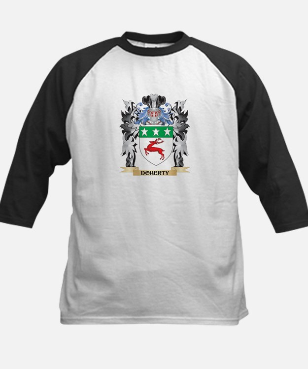 Doherty Coat of Arms - Family Cres Baseball Jersey