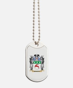 Doherty Coat of Arms - Family Crest Dog Tags