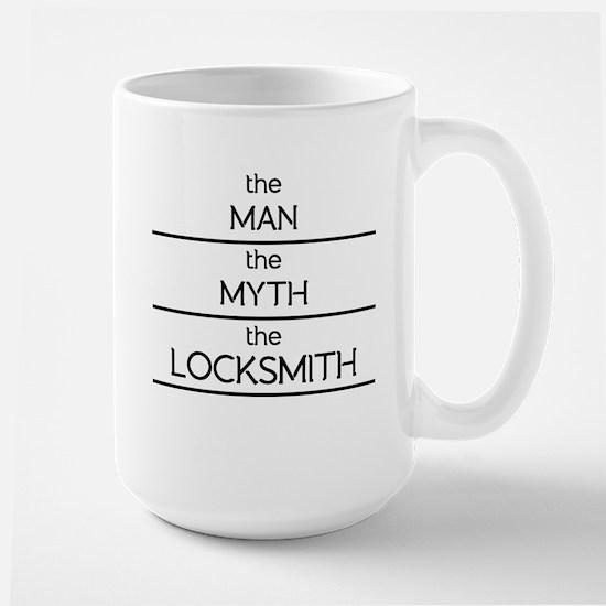 The Man The Myth The Locksmith Mugs