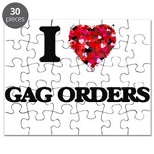 I love Gag Orders Puzzle