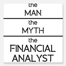 The Man The Myth The Financial Analyst Square Car