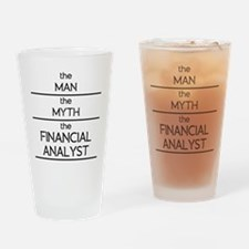 The Man The Myth The Financial Analyst Drinking Gl