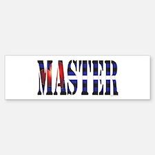 Master Bumper Bumper Sticker