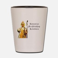 Canonize Abp. Marcel Lefebvre Shot Glass