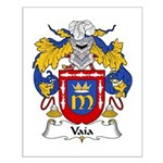 Vaía Family Crest Small Poster