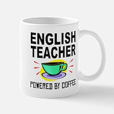 English Teacher Powered By Coffee Mugs