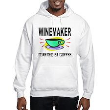 Winemaker Powered By Coffee Hoodie