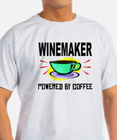 Winemaker Powered By Coffee T-Shirt