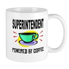 Superintendent Powered By Coffee Mugs