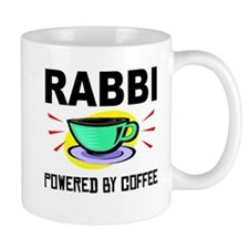 Rabbi Powered By Coffee Mugs