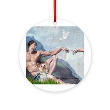 CREATION / Yorkie Tess Ornament (Round)