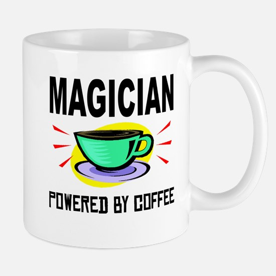 Magician Powered By Coffee Mugs