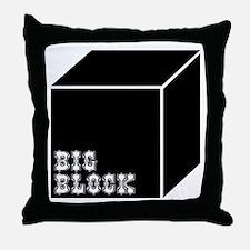 Big Block Throw Pillow