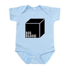 Big Block Infant Bodysuit