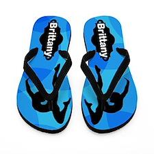 Tumbling Queen Flip Flops