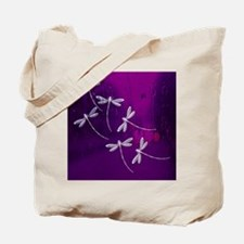 Dragonflies on water Tote Bag