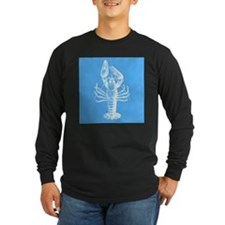 Blue lobster Long Sleeve T-Shirt
