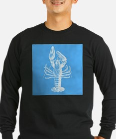 Blue lobster Long Sleeve T-Shirt