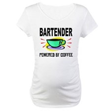 Bartender Powered By Coffee Shirt