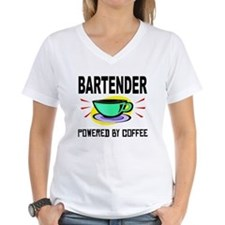 Bartender Powered By Coffee T-Shirt