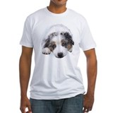 Australian shepherd Fitted Light T-Shirts