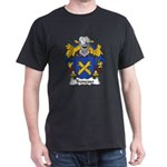 Troncoso Family Crest Dark T-Shirt