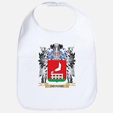 Dominik Coat of Arms - Family Crest Bib