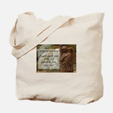 You are not Alone - Angels share your Tears Tote B
