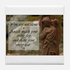 You are not Alone - Angels share your Tears Tile C
