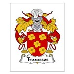 Travassos Family Crest Small Poster