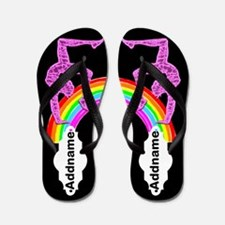 Purple Gymnast Flip Flops