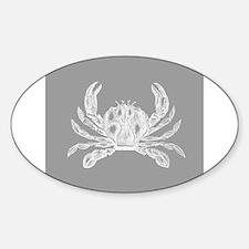 Grey Crab Decal