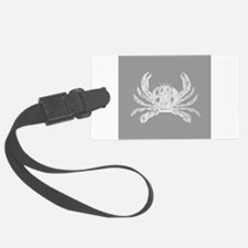 Grey Crab Luggage Tag