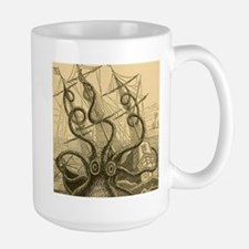 Kraken attack Mugs