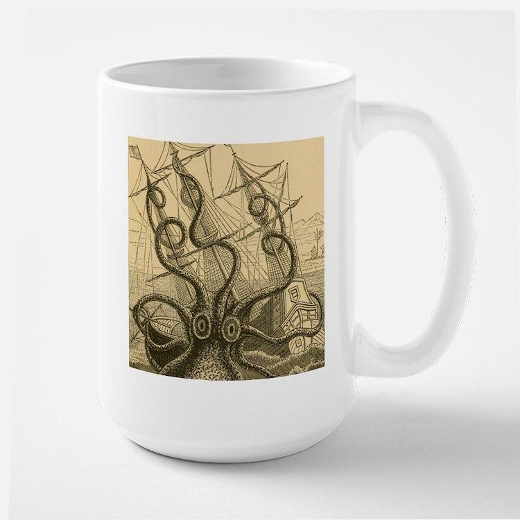 Kraken attack Mugs