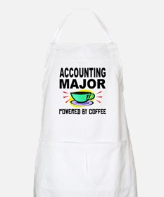 Accounting Major Powered By Coffee Apron