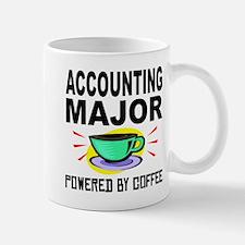 Accounting Major Powered By Coffee Mugs