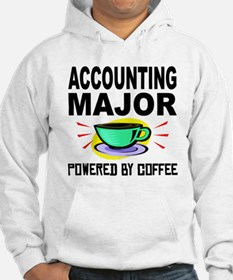 Accounting Major Powered By Coffee Hoodie