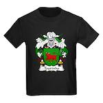 Tourinho Family Crest Kids Dark T-Shirt
