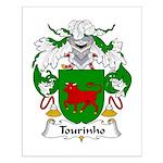 Tourinho Family Crest Small Poster