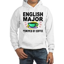 English Major Powered By Coffee Hoodie