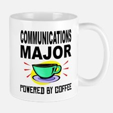 Communications Major Powered By Coffee Mugs