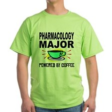 Pharmacology Major Powered By Coffee T-Shirt